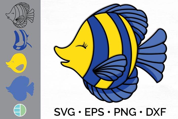 3D Layered SVG Fish