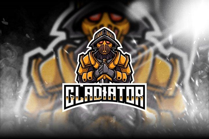 Gladiator Esport Logo Template