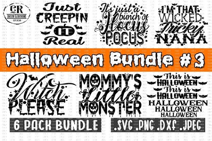 Halloween Bundle #3, Halloween Bundle svg
