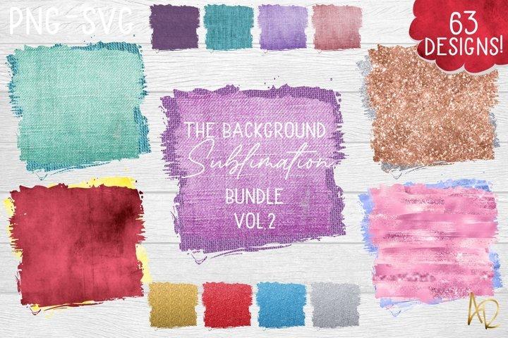 Sublimation Background Bundle Vol.2 Texture Burlap Glitter