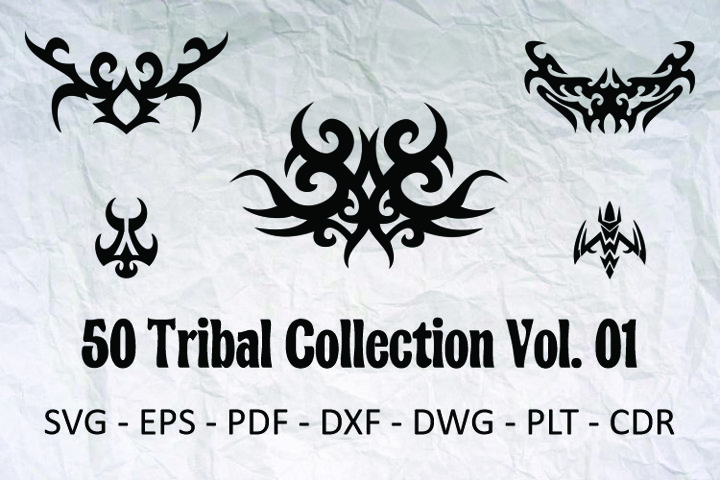 50 Tribal Collection Vol. 01