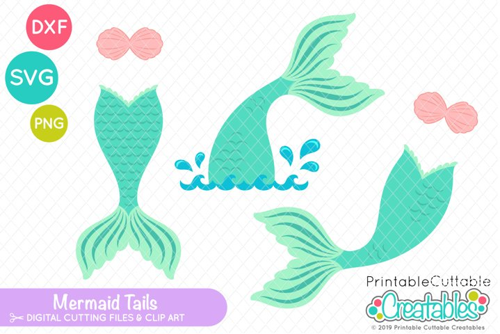 Mermaid Tail SVG Set