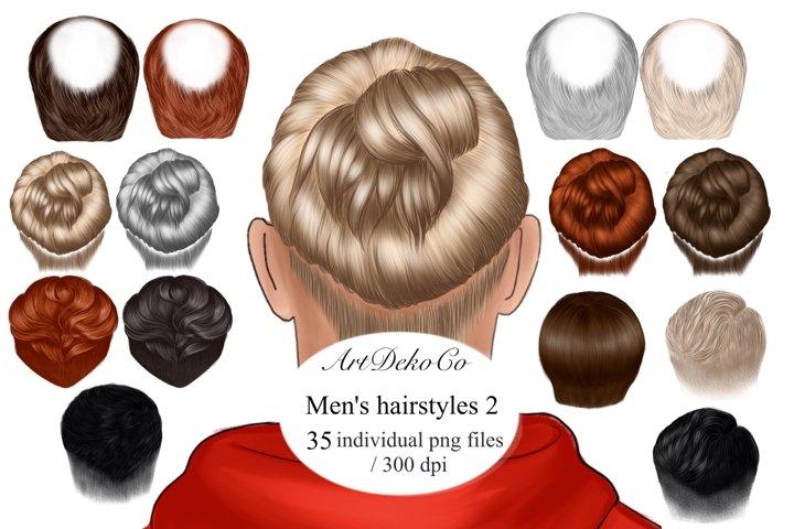 Custom mens hairstyles, clip art, mens hairstyles