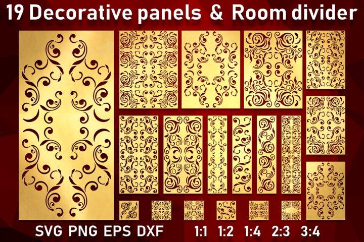 19 Decorative panels Wall hanging room divider