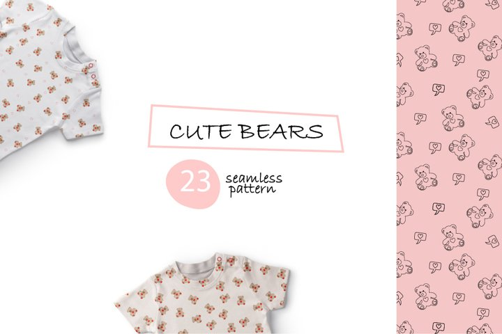 Cute Bear Animal Patterns
