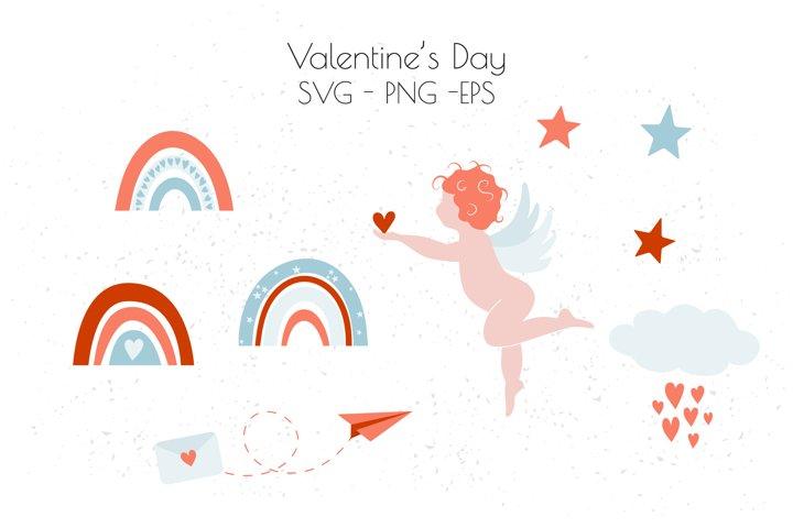Valentines Day SVG, Valentine clipart, love SVG
