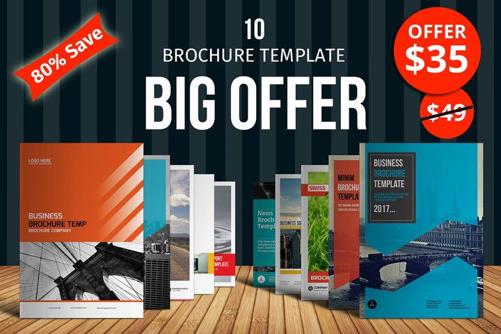 Big Bundle Brochure Template