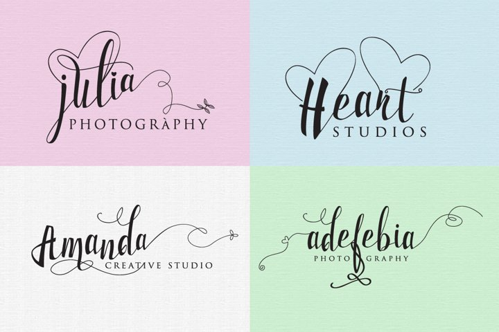 Milkytwins Modern Wave Calligraphy - Free Font of The Week Design1