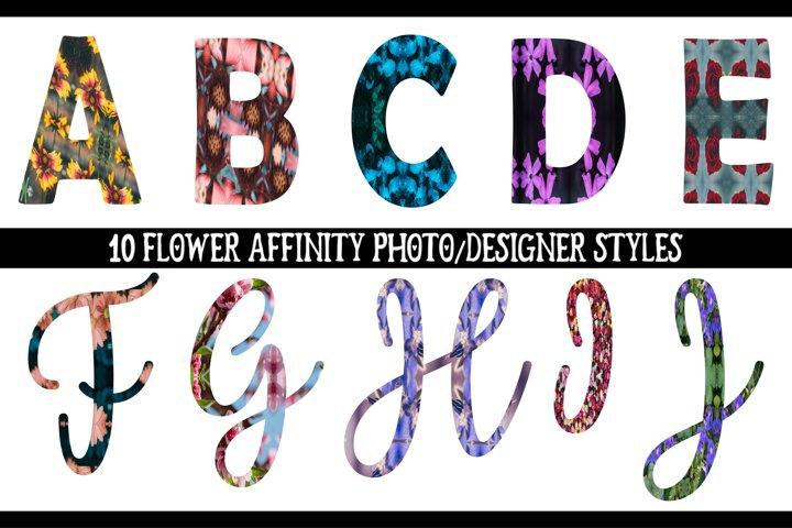 Affinity Photo styles and macro bundle
