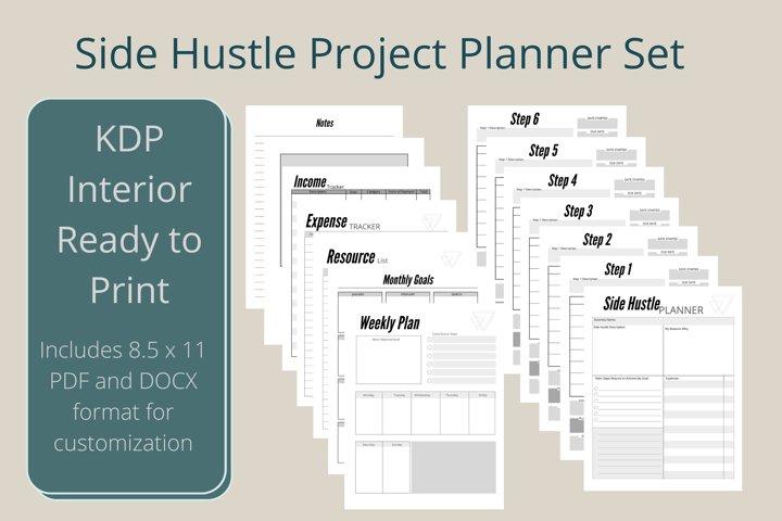 Side Hustle Project Planner Set