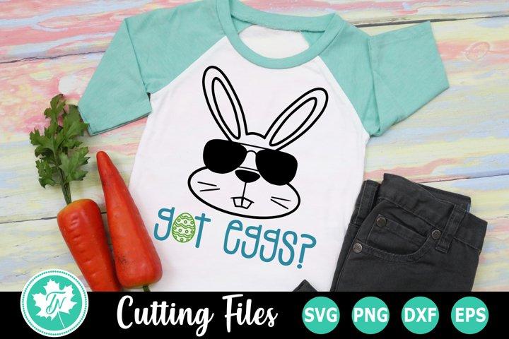 Got Eggs - An Easter SVG Cut File