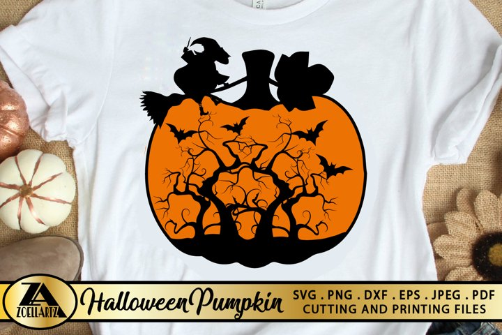 Pumpkin SVG Halloween Pumpkin SVG PNG EPS DXF Thanksgiving