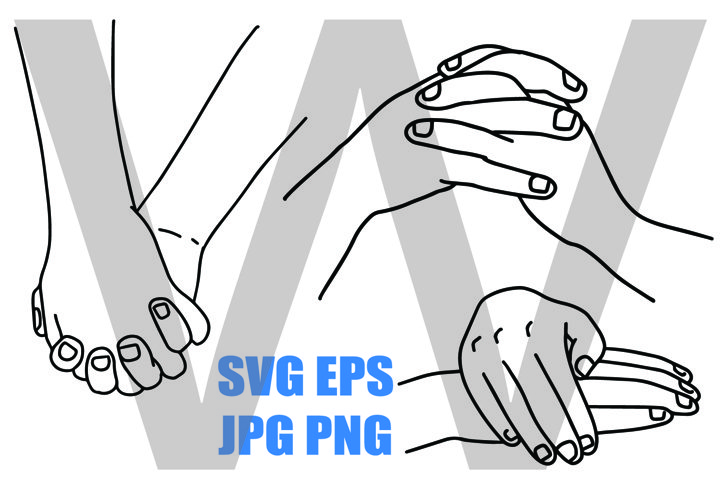 Holding hand 3Designs - PNG SVG EPS PNG