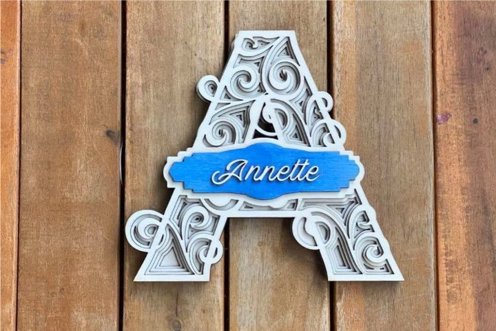 Multilayer Pack Letters - Special - Full alphabet A-Z
