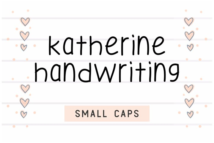 Katherine Handwriting