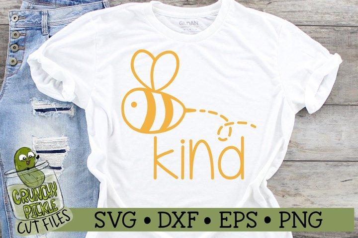 Bee Kind SVG Cut File