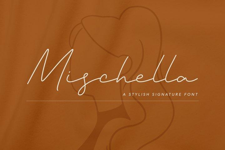 Mischella Stylish Signature Font