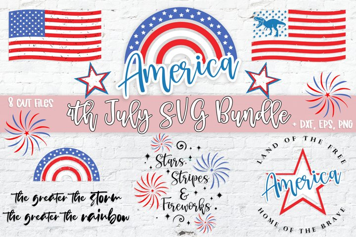 4th of July SVG Bundle | Patriotic Independence Day Cut File