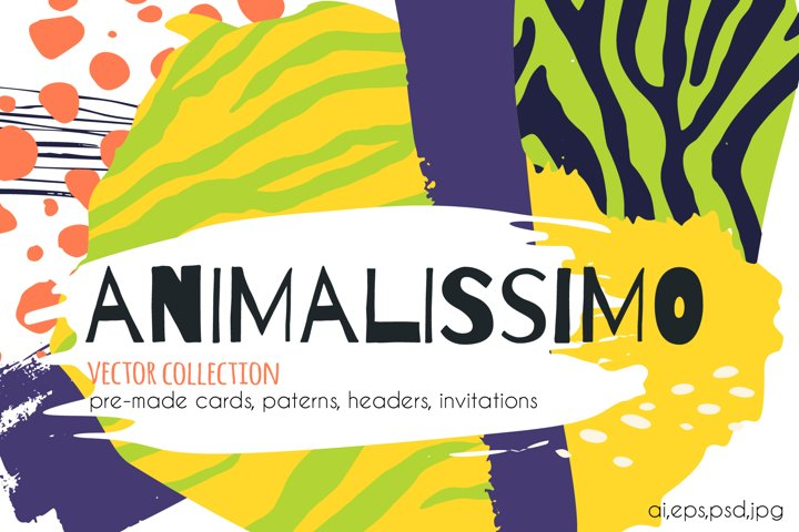 Animalissimo vector collection