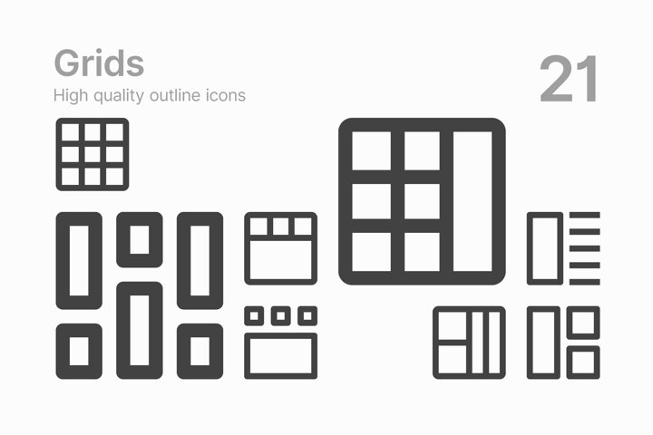 Grid Icons