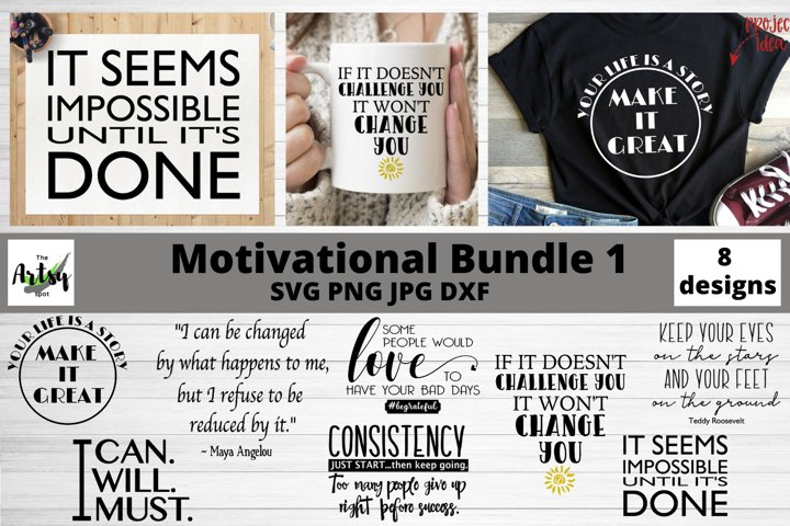 Motivational quotes svg Bundle, Inspirational svg bundle