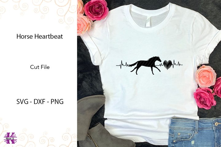 Horse Heartbeat SVG