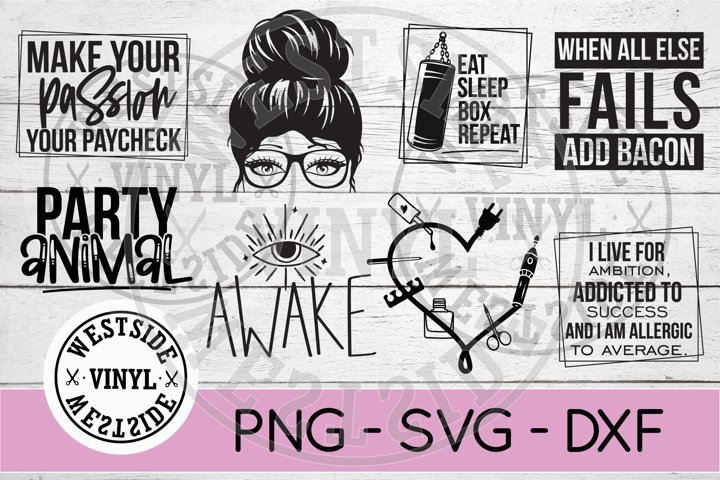 BUNDLE MIXED - FUNNY SVG - PARTY SVG - CUT FILES - SVG
