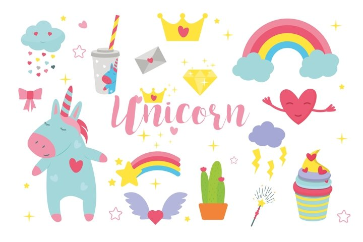 Cute Unicorn Collection