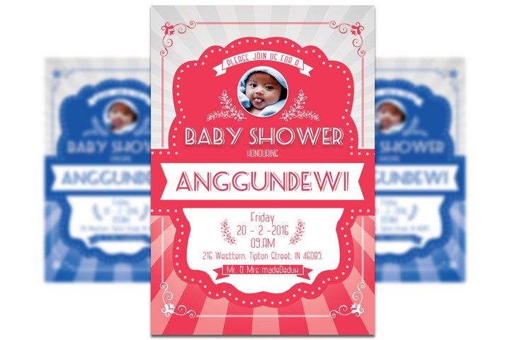 Baby Shower Invitation #2