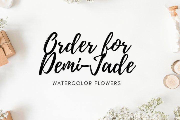 Order for Demi-Jade