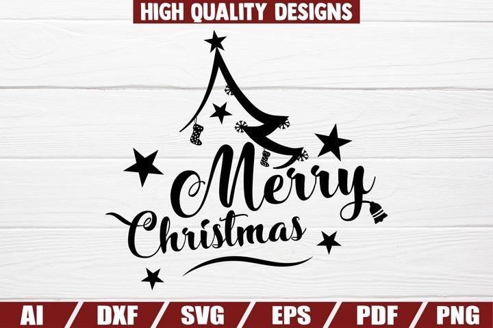 Merry Christmas SVG - sayings - quotes - home decor - shirt