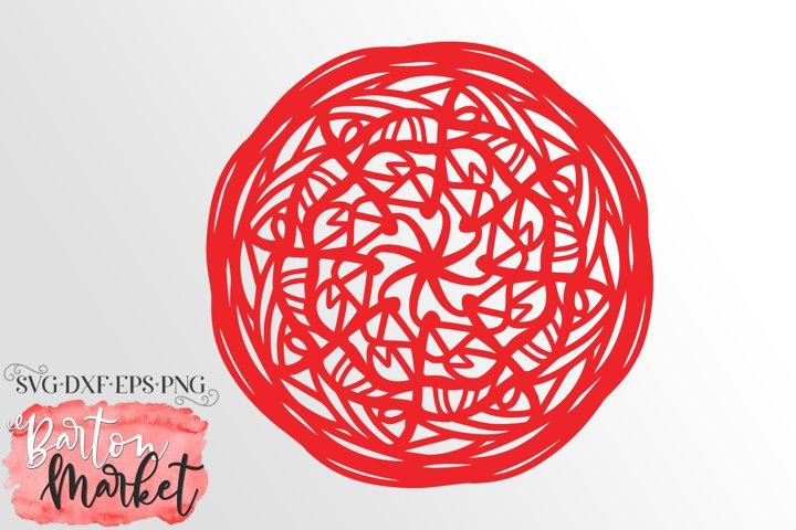 Yay Mandala SVG DXF EPS PNG