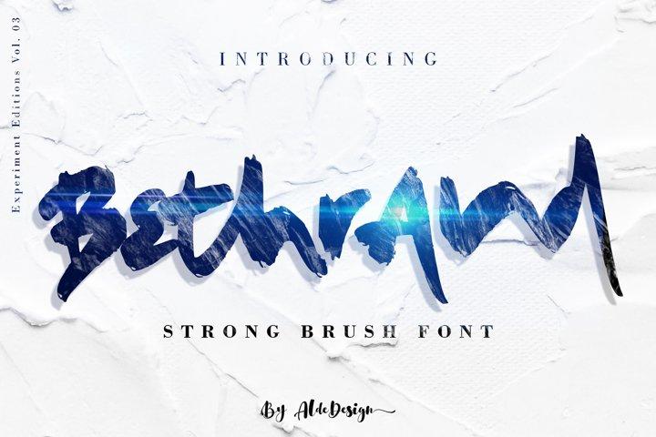 Bethrand // Strong Brush