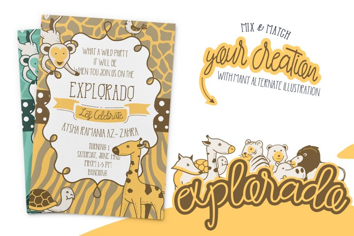 Explorado Typeface  - Free Font of The Week Design0