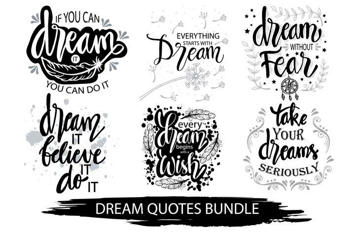 Dream quotes bundle