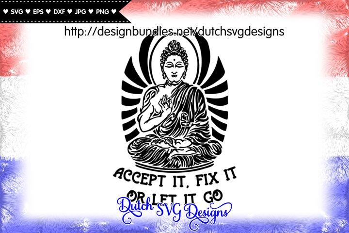 Text cutting file with buddha, buddha vector, buddha svg