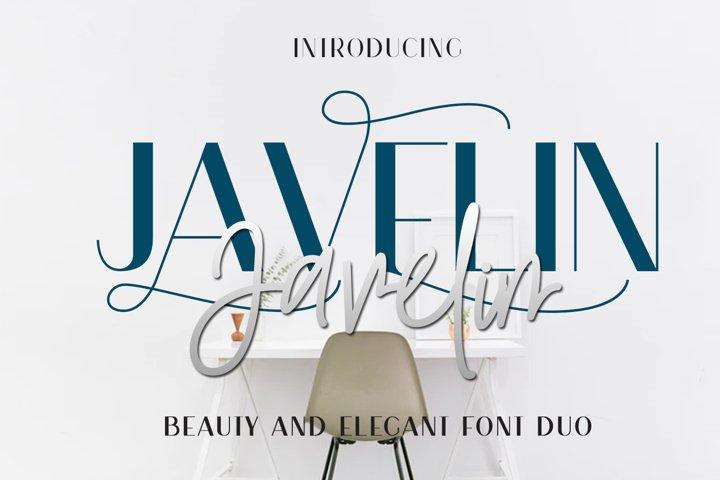 Javelin Font Duo