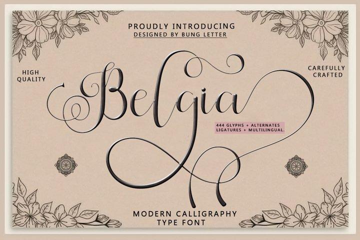 Belgia -Modern Calligraphy