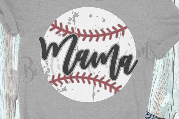 Baseball Mama SVG