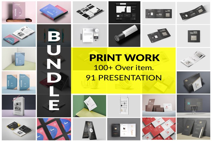 Print Work BUNDLE