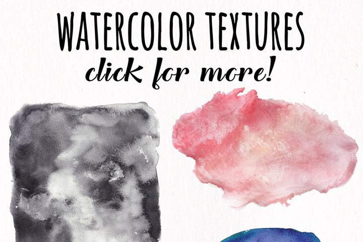 Watercolor Textures - card edition - Free Design of The Week Design15