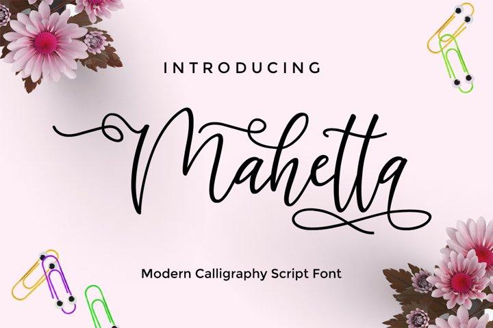 Mahetta Script