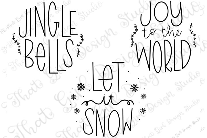 Christmas Ornament Round SVG Bundle