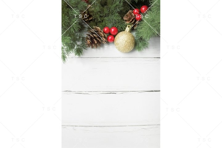 Christmas Stock Photo / Background Image / Pine Cone
