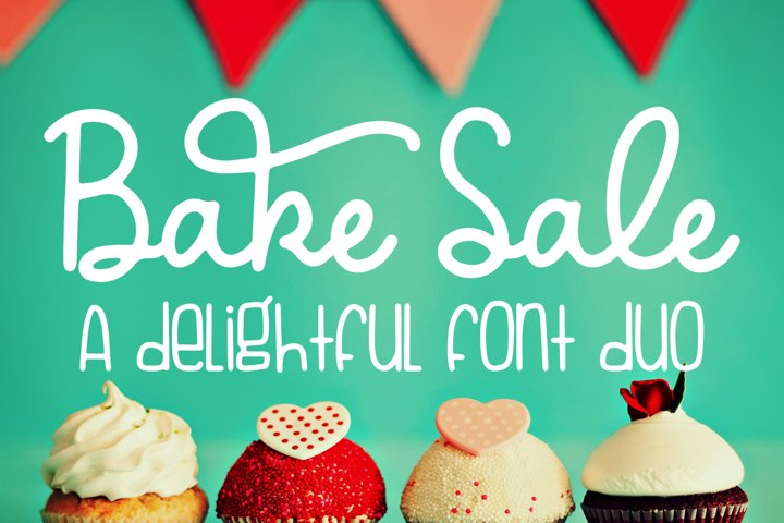 Bake Sale - A delightful font duo