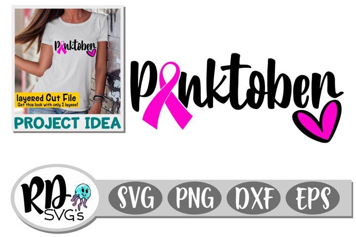 Pinktober - A Layered Breast Cancer Cut File