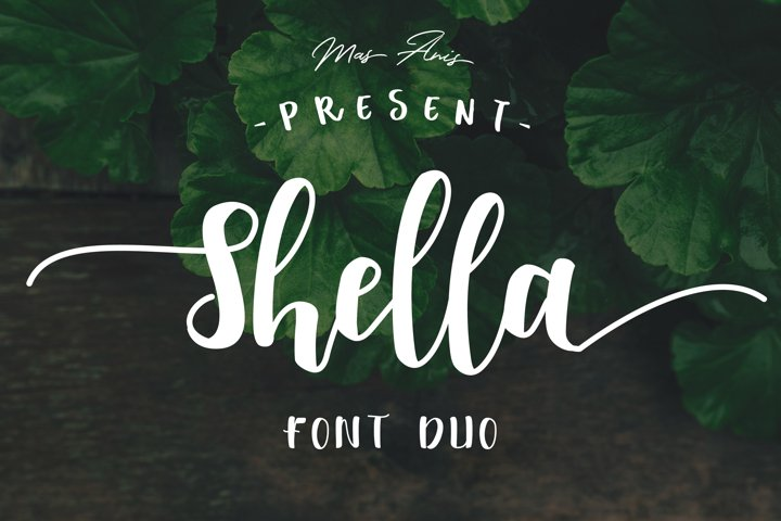 Shella Font Duo - Intro Sale !