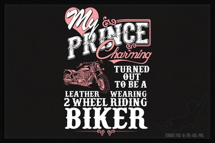 Biker wife