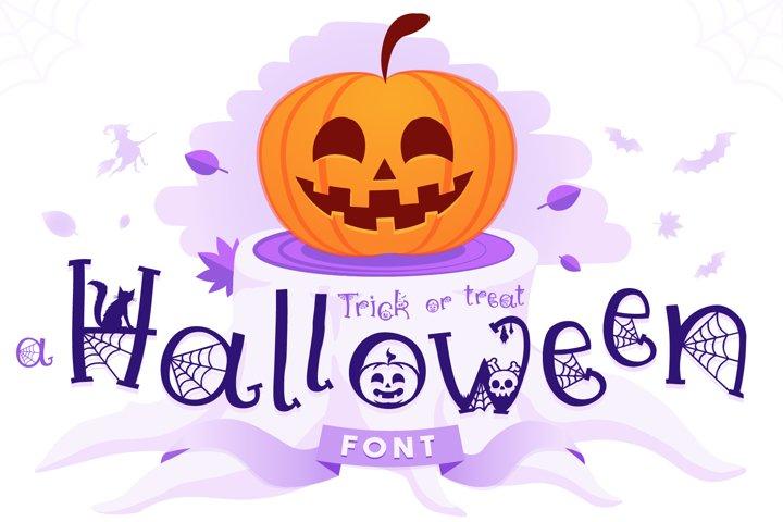 Halloween Font | Halloween Script with Bonus Extras!