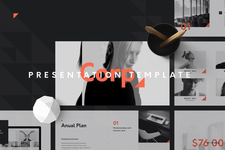 Corp Keynote Presentation Template